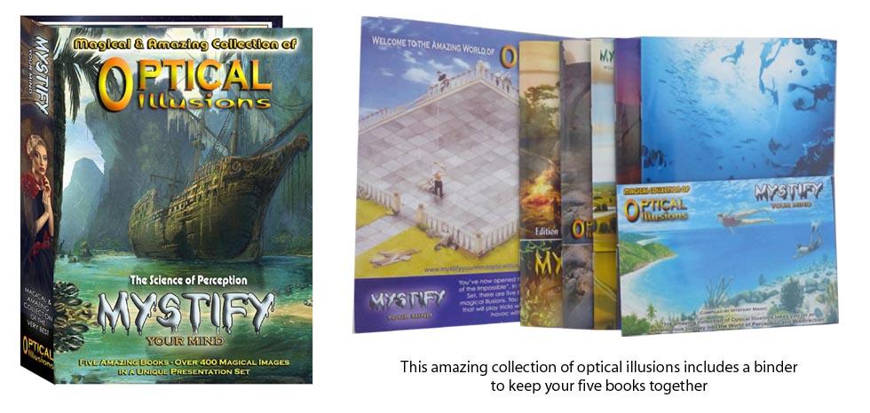 Optical Illusions Books